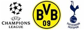 champions league, rückspiel achtelfinale: borussia dortmund - tottenham hotspur