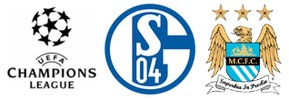 fc schalke 04 gegen manchester city (champions league)